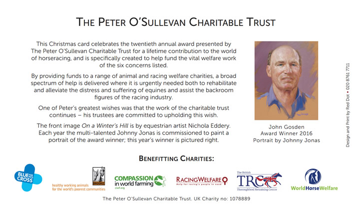 sir peter osullevan christmas card 3